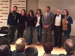 Escoltes Catalans guanya els Premis d'Educació en el Lleure de la Fundació Carulla