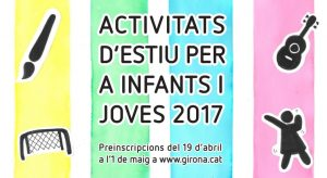 PREINSCRIPCIONS CASALS ESTIU GIRONA