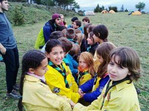 Campaments de primavera 2018, entre sol i fred