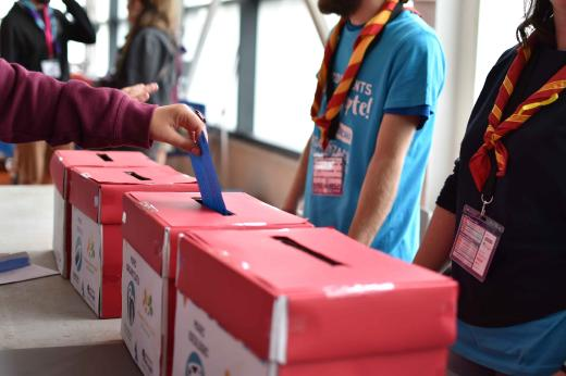 Més de 700 caps defineixen el futur de l'escoltisme català en el Congrés de Caps