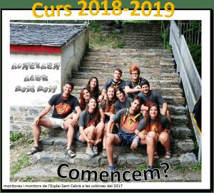 Comença el curs 2018-2019