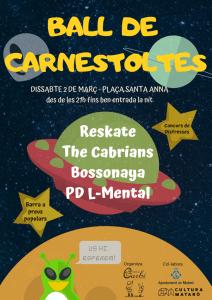L'Esplai Garbí organitza el Ball de Carnestoltes 2019 a Mataró!