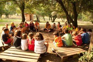 Mesures per fomentar l'economia circular durant els campaments